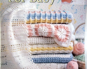 Make One For Baby By Carole Rutter Tippett Vintage Crochet Pattern Leaflet 1995