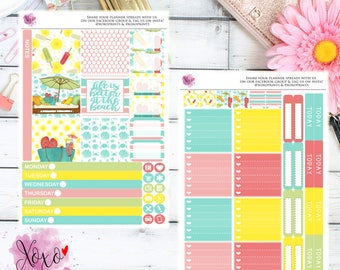 Vacation Weekly Kit for the Mini Happy Planner