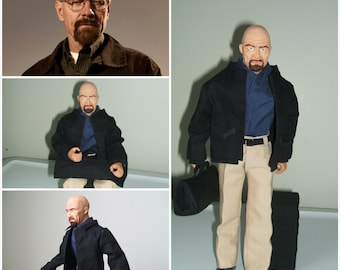 Walter White Action Figure, Breaking Bad, One of a Kind