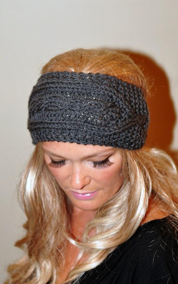Ear Warmer Crochet Headband Knit Head Wrap Braided Earwarmer