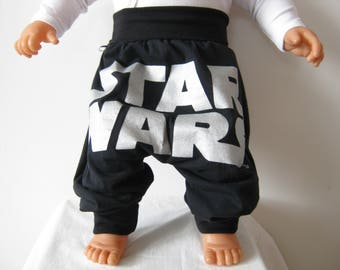 "recycled t-shirt harempants "" star wars "" ca. 6 month - ca. 18 month"