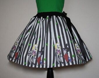Beetlejuice, Beetlejuice, Beetlejuice Skirt, All Sizes, Plus Size