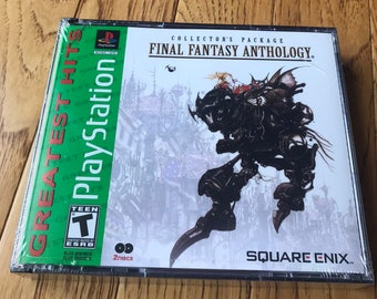 Final Fantasy Anthology - Playstation 1 (PS1)