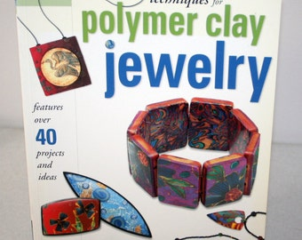 Book Polymer Clay Jewelry