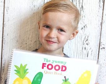 Yummy Food Quiet Book