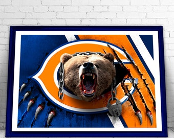"NEW - Chicago Bears ""Monsters of the Midway"" Digital Download Printable"