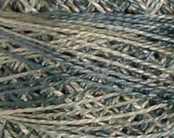 Valdani Variegated Perle Cotton Embroidery Thread - Size 8, 73yd, Single ball SEASIDE JP12