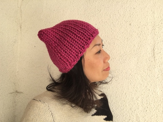 Bear Ear Hat Knitting Pattern Java