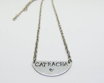 Catracha necklace (Honduras necklace, latinx)