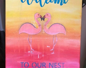 Welcome to our Nest Painting