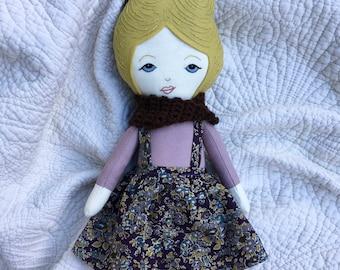 A Maker's Burrow Heirloom Doll