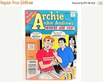 Comic Book Archie Andrews Where Are You Digest Magazine Vintage Archie Digest Library Comic Book No 94 July 1994