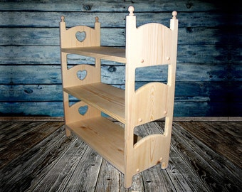 Play Bed 18 Inch Doll Bed * DIY Baby Bed * American Girl Bed Wooden Doll Bed * Doll Furniture Bed * Kids Furniture * Toddler Fairy Doll Bed