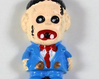 5 PC Zombie Man Halloween resin Flatback Cabochons Decoden Kawaii