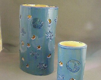 Romantic Moon and Stars Candle Burners