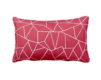 Red Pillow Covers Red Throw Pillow Cover Decorative Pillows for Couch Pillows Rectangular Pillows Red Lumbar Pillows Decorative Throw Pillow