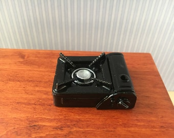 Miniature gas stove black
