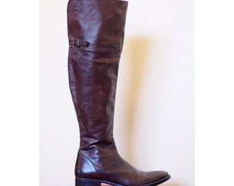 Sisley Over the Knee Boots Size 9/9.5