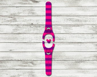 We're All Mad Here MagicBand Decal | MagicBand 2.0 Skin | RTS Ready To Ship | Fits Both Adult & Child Bands