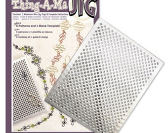 Thing A Ma JIG Deluxe Kit  - Wire Jig Bend & Form Wire by Beadsmith