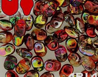 MAGIC APPLE: SuperUno Czech Glass Seed Bead Drops, 2.5x5mm (10 grams)