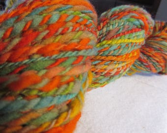 Just Yes - Hand spun, hand dyed yarn