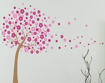 Blossom Tree - Wall Sticker / decal - AW7074