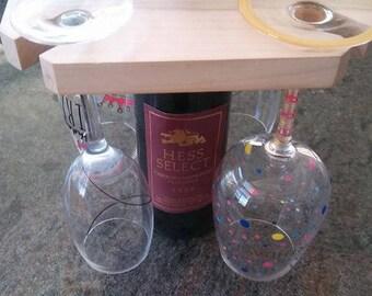 Four Glass Wine Holder