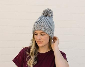 Simple Beanie, slouch hat, slouch beanie, simple hat, crochet, women fashion, men fashion, knitted, handmade