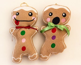 Gingy Gingerbread Plush Ornament / Keychain