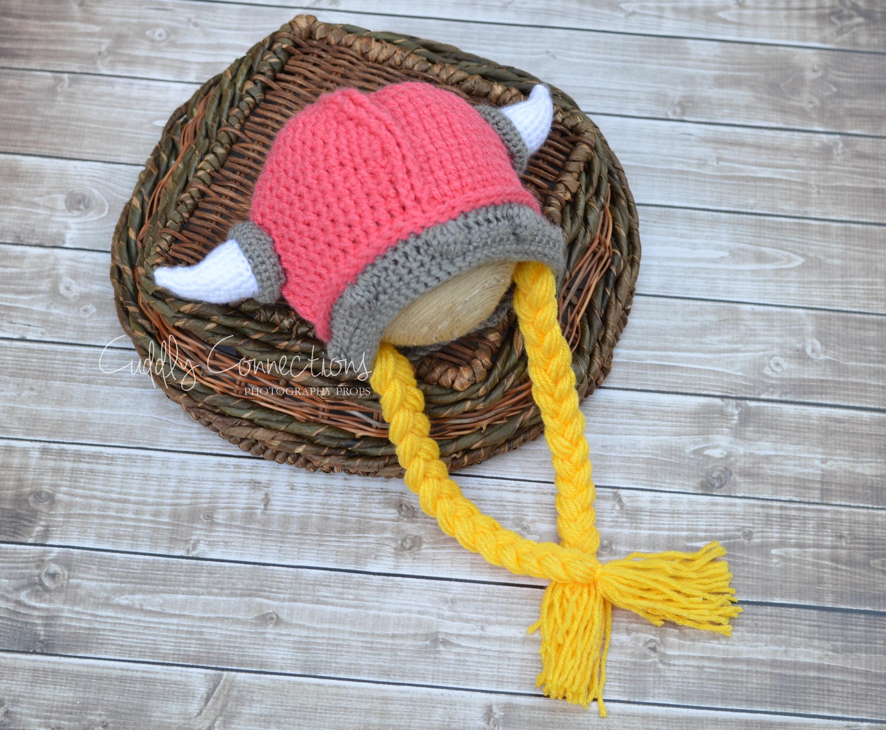 Wikinger Zöpfe Viking Geflecht Hut weibliche Wikinger