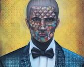 11x14 Enigmatic Man In Su...