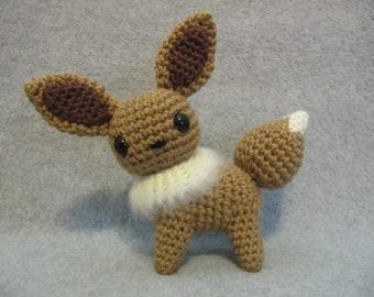 Chibi Eevee Pokemon Pattern