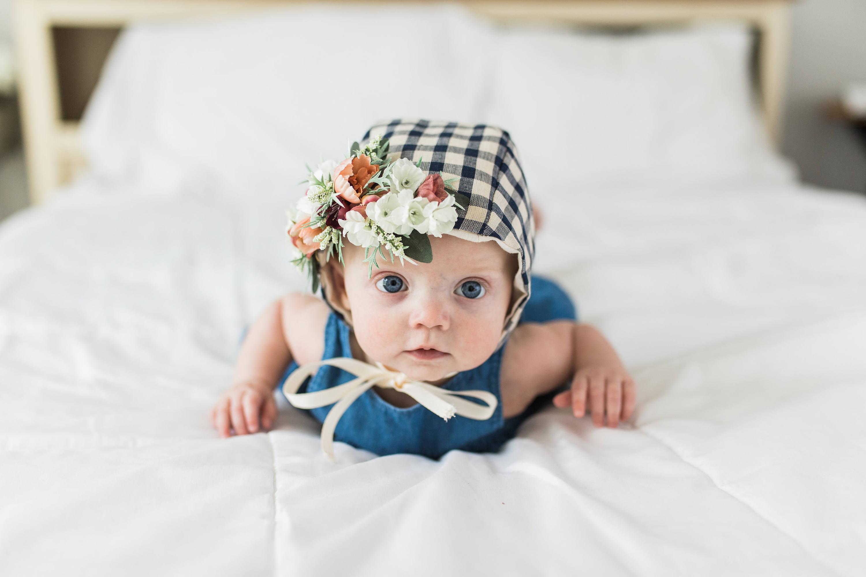 Flower crown bonnet floral bonnet baby bonnet baby flower bonnet flower crown bonnet floral bonnet baby bonnet baby flower bonnet baby photo prop sitter bonnet easter bonnet izmirmasajfo