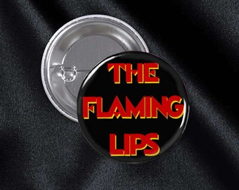 Flaming Lips Pinback Buttons 1 1/4 Inch