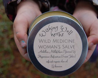 Wild Medicine Woman salve/ cream