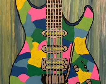 Colorful Electric Guitar.2
