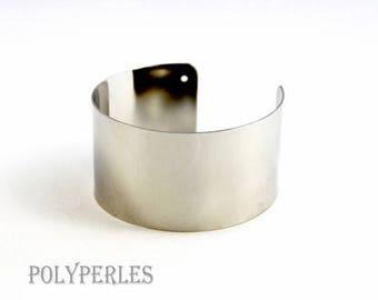 1 support (width 35mm) brass cuff bracelet
