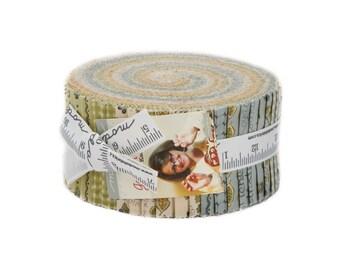 Garden Notes Jelly Roll Fabric - Kathy Schmitz - Moda