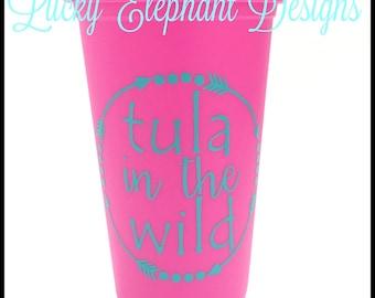 Tula in the Wild Coffee Mug - Tula in the Wild Coffee Tumbler - Tula in the Wild Coffee Travel Mug - Babywearing Coffee Mug