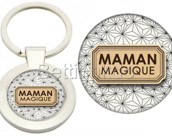 "DELUXE ""MAGIC MOM"" KEYCHAIN"
