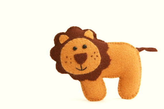 Felt Plushie Hand sewing Pattern PDF. Complete instructions to make ...