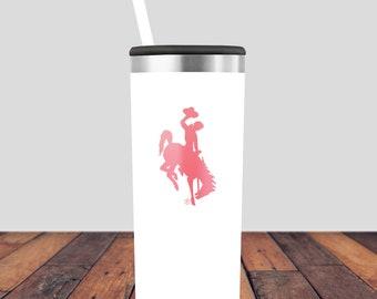 Coffee Tumblers, 22oz Roadie, Cute Tumblers, Coffee Mug, Travel Mug, Wyoming Coffee Mug, Colored Coffee Mug, Wyoming Tumbler, Wyoming Mug,