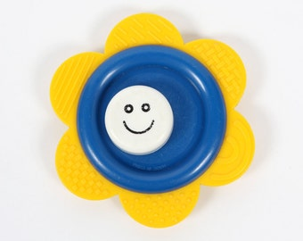 Vintage baby toy-Flower teether/toy