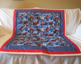 Spiderman Boy's Quilt