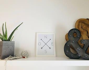 Wall art, wall art, framed