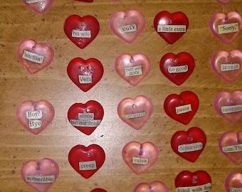 Conversation Heart Charms - Series 1