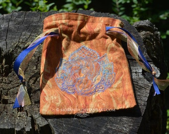 Embroidered Pouch - Horse