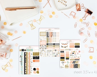 Sugarplum MINI Weekly Kit // 130+ Matte Planner Stickers // Perfect for your Personal Planner // WKM0430