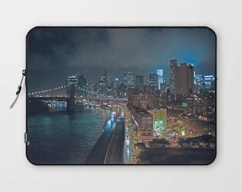 NYC laptop sleeve, skyline laptop case, New York City Skyline, NYC Skyline computer case